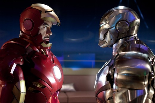 iron man and war machine face off