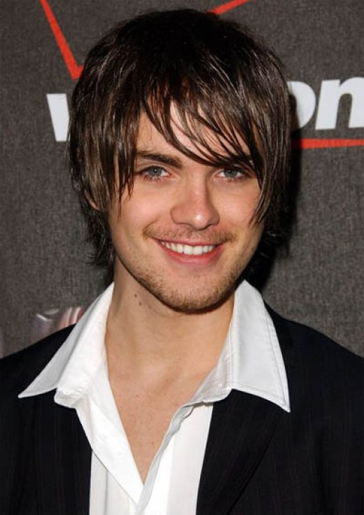 cool emo hairstyles for men