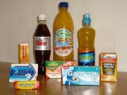Aspartame foods
