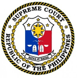 Logo of the Supreme Court of the Philippine