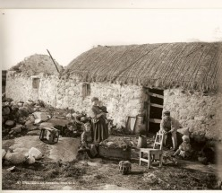 Evictions and Starvation of the Irish People by British Landlords