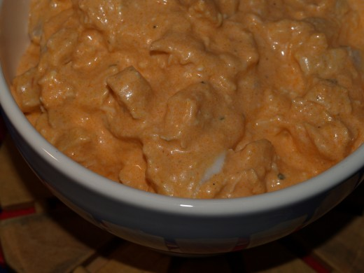 Yummy Buffalo Chicken Dip