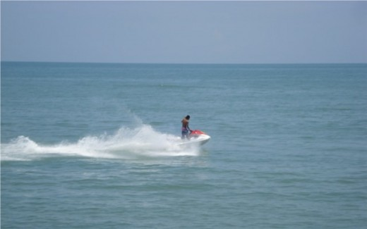 Jet Skiing in Batu Ferringhi