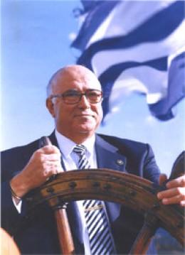CAPTAIN PANAGIOTIS TSAKOS - THE FOUNDER OF TSAKOS SHIPPING & TRADING, S. A. (Courtesy of http://www.mis.gr/)