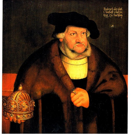 FREDERICK THE WISE ELECTOR OF SAXONY