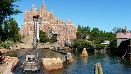 Wild West Log Flume