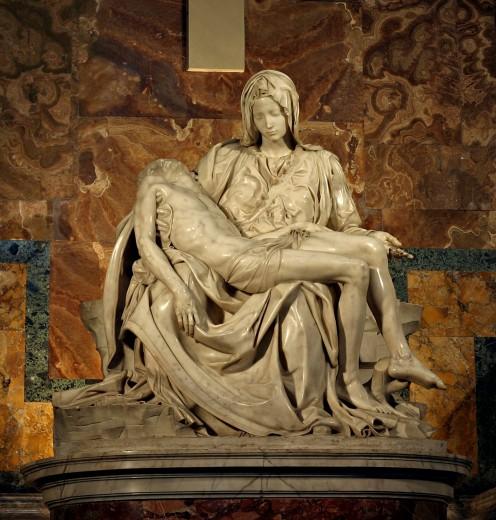 PIETA (MARBLE) 1498-1500