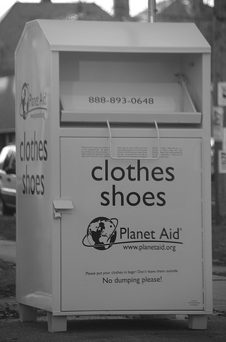 Clothing Donation Bin