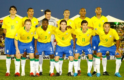 Brazil World Cup Football Team