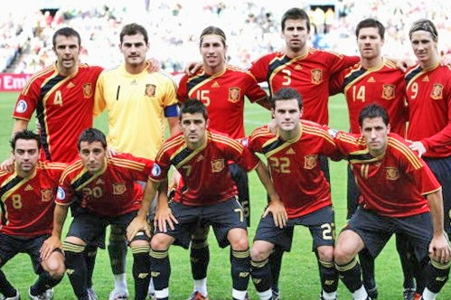 Spain World Cup Football Team