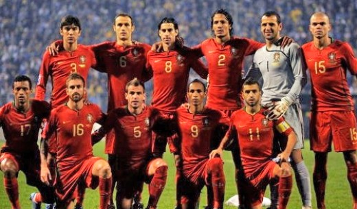 Portugal World Cup Football Team
