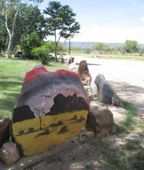 Rock Art at Turkey Creek. WA.