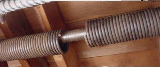 Image result for Broken Garage Door Spring