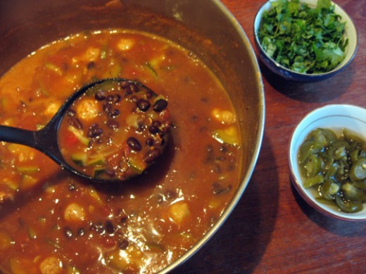 This is truly one of the best bean soups you will ever eat. Beans are one of the healthiest foods that you can eat.