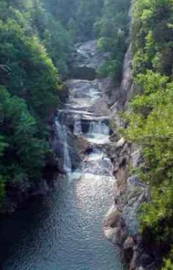 Tallulah Falls and Tallulah Gorge, with Videos