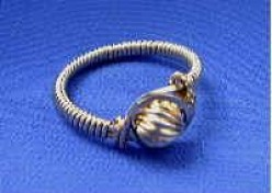 Beautiful Wire Wrapped Jewellery - How to Make a Gold or Silver Wire Wrapped Cocktail Ring