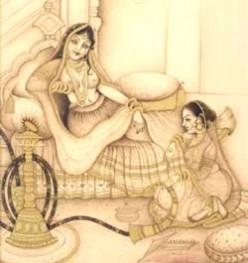 Indian Sari, a tale retold in fabric