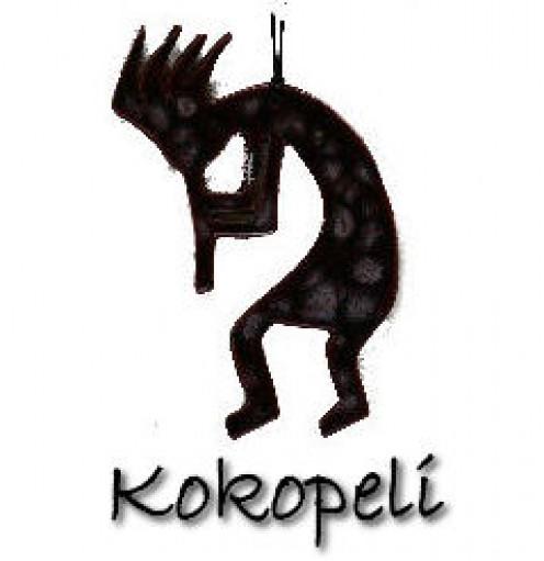 My Kokopeli tattoo