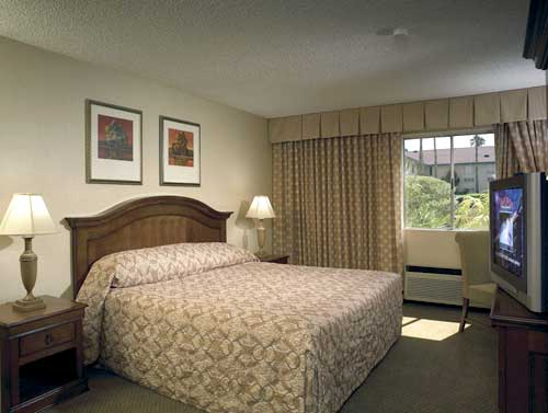 Room at the Palace Station Hotel and Casino in Las Vegas Nevada