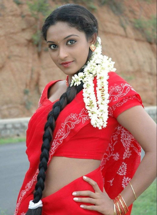 tamil actress akshaya hot in saree navel