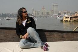 Sania Mirza in natural backdrop