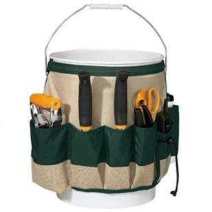 The Fiskars Bucket Garden Tool Caddy