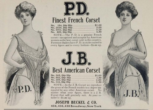 The purpose of boning in a corset history essay