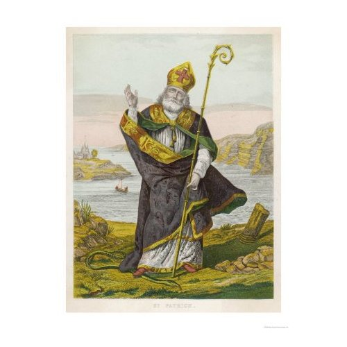 """Saint Patrick is the patron saint of Ireland. He was born along the west coast of Britain in the village of Bannavem of Taburnia.. Raiders captured Patrick with """"many thousands of people"""" and sold them as slave."""