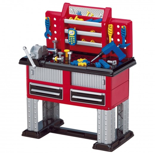 Play Pretend With A Kids Workbench