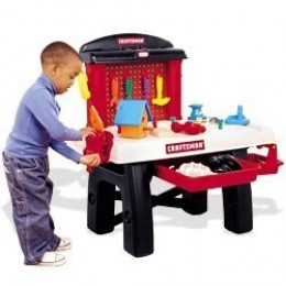 Craftsman toy workbench