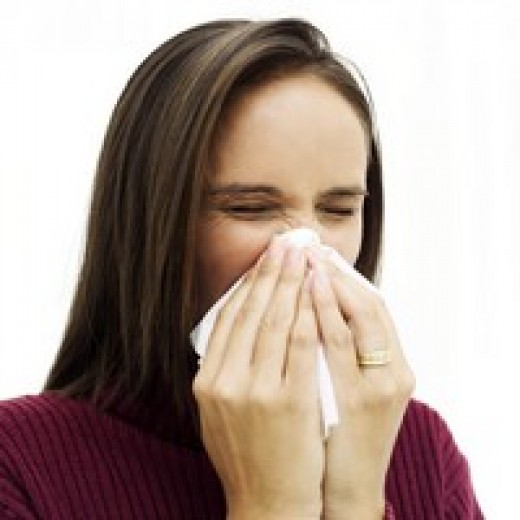 Runny nose is a common hay fever symptom