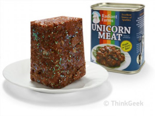 Unicorn Meat, courtesy of ThinkGeek.com.