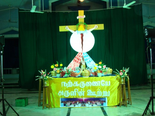 St John De Britto Church at Subramaniyapuram