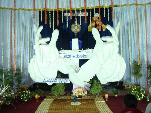 Jegan Madha Church at K K Nagar