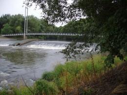River Taff at Blackweir. Photo by Rudi Winter