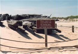 Laura A. Barnes shipwreck display