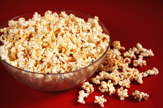 popcorn in bowl from Dreamstime.com