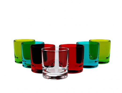 Colorful glasses from Dreamstime.com