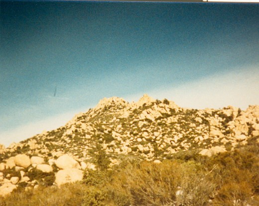 Up close shot of The Pinnacles taken back in 1988.  What can I say, I have always been into photography!  Some kids played video games, I liked to take pictures of nature.