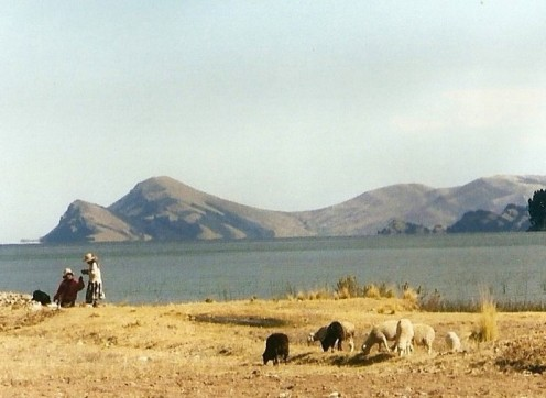 A hike around Lake Titicaca is a good way to explore the area.
