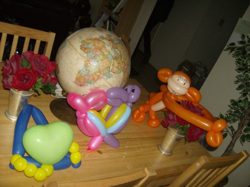 Toy balloons. Full of fun!