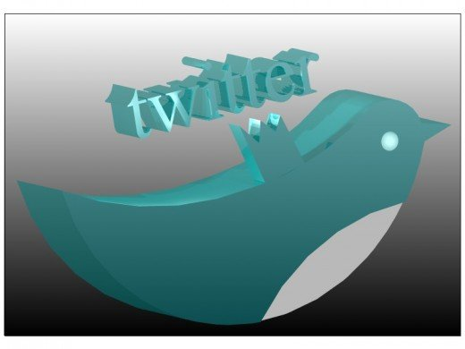 twitter graphic in turbocad