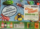 Giant Creepy Crawlers issued 1965. Courtesy Http://dr-goop.com/thing maker.htm