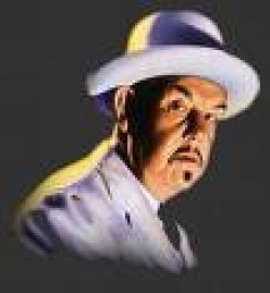 Actor Sidney Toler as Chinese Detective Charlie Chan. It would take a master detective like Chan to solve the Main Street-Main Avenue mystery.