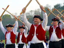 Morris Dancers -Photo courtesy of:commons.wikipedia.org