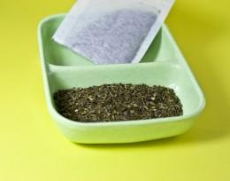 Catnip tea - catnip for your cat, calming tea for you!
