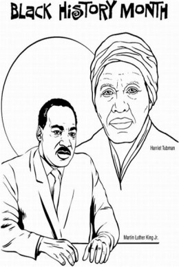 Printable Coloring Sheets For Martin Luther King Jr Martin Luther King ...