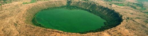 Lonar Crater, Maharashtra, India