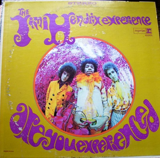 Jimi's first release and a real experience for me!
