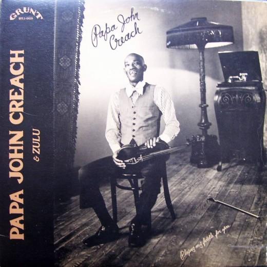 Late great fiddle player Papa John Creech.